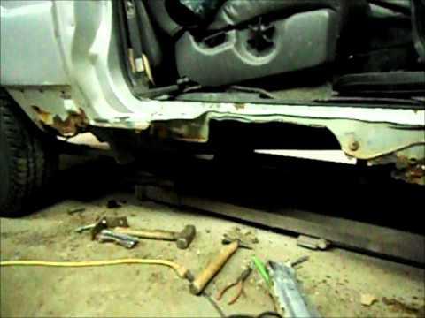 2001 Ford Explorer Right Door And Rocker Panel Repair