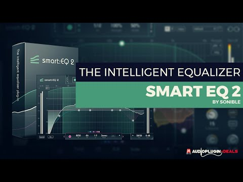 Smart:EQ 2 by Sonible on sale for $69 USD at Audio Plugin Deals
