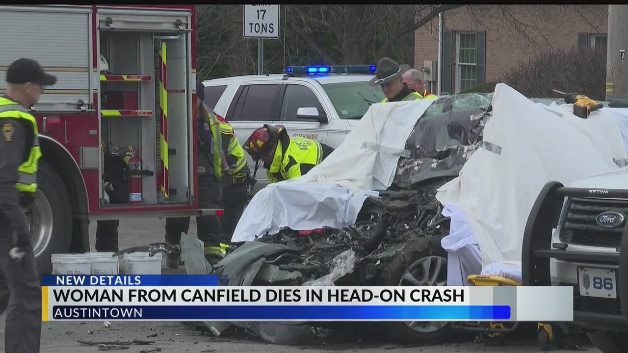 Download Canfield woman killed after crash with tractor-trailer in Austintown