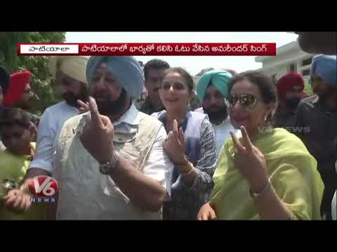 LS Elections 2019 | CM Amarinder Singh Resigns If Congress Loses In Punjab | V6 News