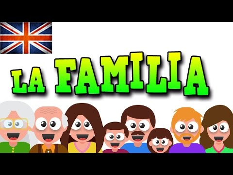 LA FAMILIA EN INGLÉS - APRENDE INGLÉS CON MR PEA - ENGLISH FOR KIDS