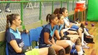 Treino do time de vôlei Renata Country Valinhos