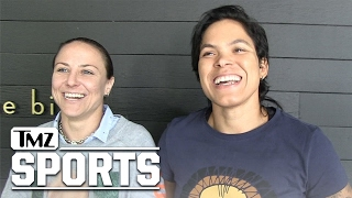 AMANDA NUNES GF WILL TAKE MY LAST NAME ... When We Marry | TMZ Sports