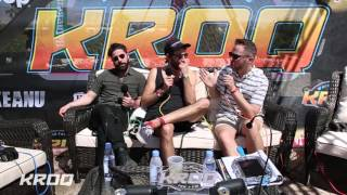 Stryker Interviews Foals at the KROQ Coachella House
