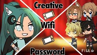 Creative WiFi Passwords// Gacha Skit