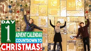 BIGGEST Advent Calendar! Day 1 Christmas Countdown 2018
