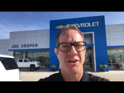 hello austin from chad at joe cooper chevy cadillac in shawnee ok youtube. Black Bedroom Furniture Sets. Home Design Ideas