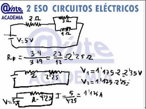 circuitos de resistencia en serie ejercicios