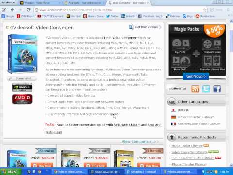 Video soft Video Converter Platinum Download - Do you Find it?