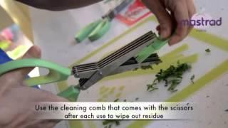 Mastrad Herb Scissors