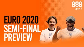 RORY: 'ENGLAND SHOULD WIN IT ALL!' | EURO 2020 SEMI FINAL PREVIEW | A Tenner Says | 888sport