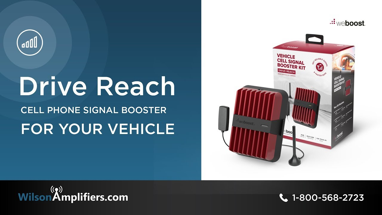 weBoost Drive Reach: Next Generation Vehicle Signal Booster