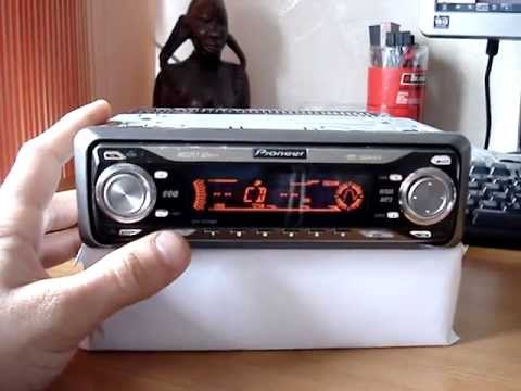 Pioneer Deh P6700mp 10 Colors Audio Setings YouTube