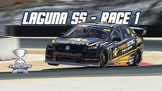 iRacing: Laguna SS - Race 1 (V8 Supercar @ Laguna Seca)