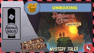Robinson Crusoe Mystery Tales - Unboxing - deutsch