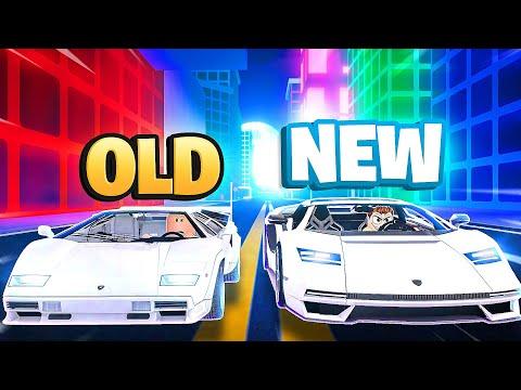 NEW LAMBORGHINI COUNTACH VS OLD IN ROBLOX CAR DEALERSHIP TYCOON!!