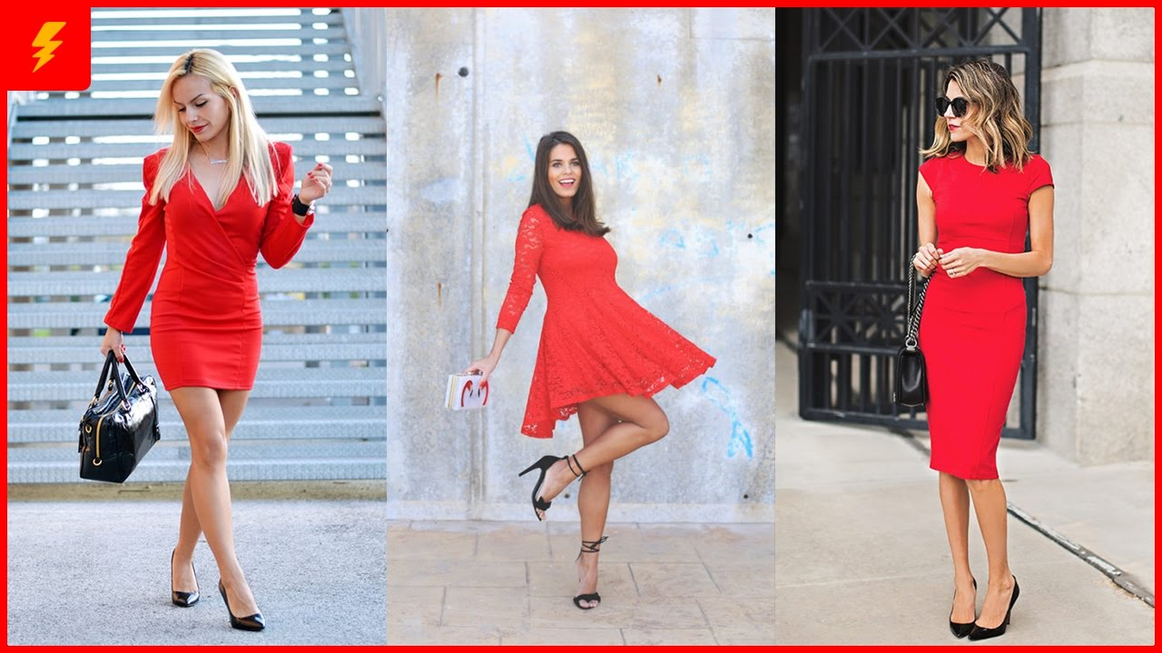 How to Wear Little Red Dress - YouTube