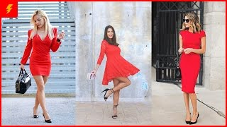 How to Wear Little Red Dress