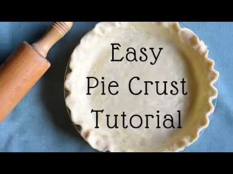 How to Make Pie Crust From Scratch