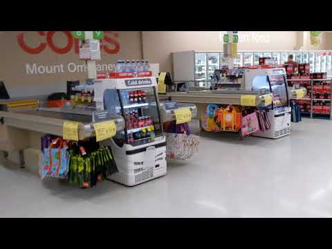 AUSTRALIA IN CRISIS 2020 - Coles Supermarket At MT OMMANEY Shopping Centre