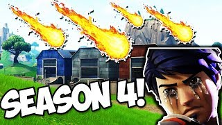 *LEAKED* METEORS ARE GOING TO DESTROY DUSTY DEPOT NOT TILTED TOWERS! (Fortnite Battle Royale)