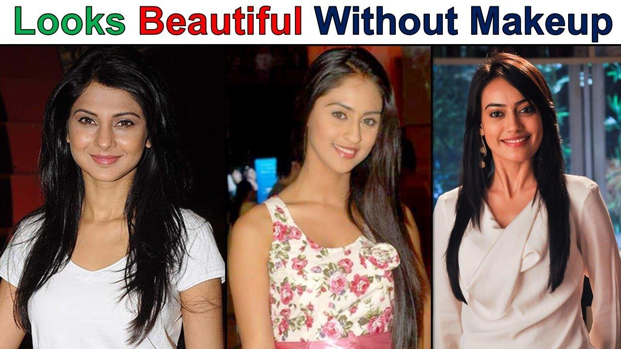 TV Actresses Looks Beautiful Without Makeup - YouTube