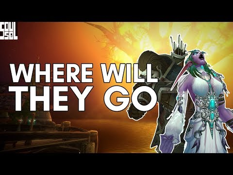 Speculating Where the Night Elves and Forsaken's Future Home! - World of Warcraft Battle for Azeroth