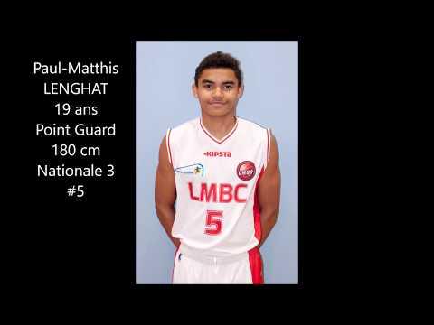 Paul-Matthis Lenghat / Nationale 3 Lille Basket (LMBC) / 2017 2018 Highlights