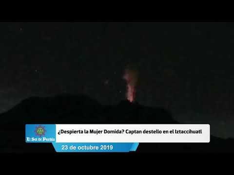 ¿Despierta la mujer dormida? Iztaccíhuatl presenta probable explosión #Puebla