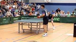 RU 0:25 / 12:28 Timo Boll vs. Jan Ove Waldner in Mühlhausen 2011