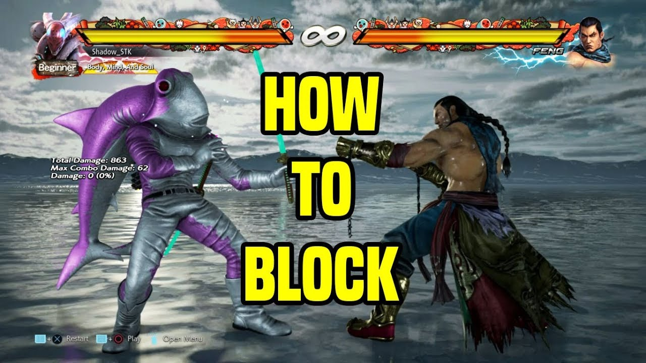 How To Make Tekken A Lot Easier Proper Defense Tutorial Tekken 7 Youtube