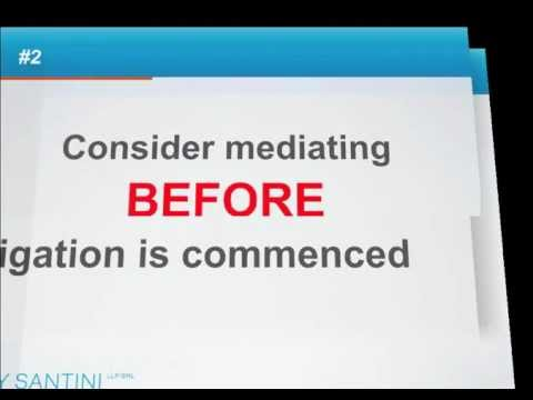 Insurance Defence: How to Prepare for Mediation - 30 Tips in 30 Minutes
