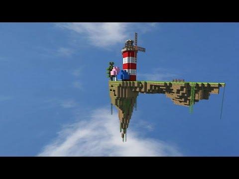 MINECRAFT VIDEO: ВЫЖИВАНИЕ РОБИНЗОНА НА ОСТРОВЕ (1 серия)