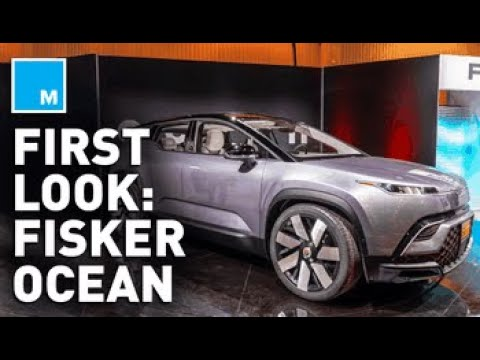 First Look Inside FISKER OCEAN EV — Tesla's New Competitor | CES 2020