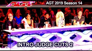 INTRO  America's Got Talent 2019 Dwyane Wade as Guest Judge  - AGT season 14 Judge Cuts 2