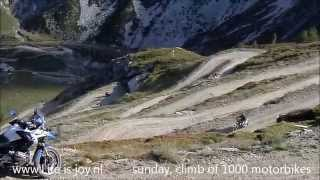 Stella Alpina Highest motorcycle meeting in the World climbing highest mountainroad of Europe