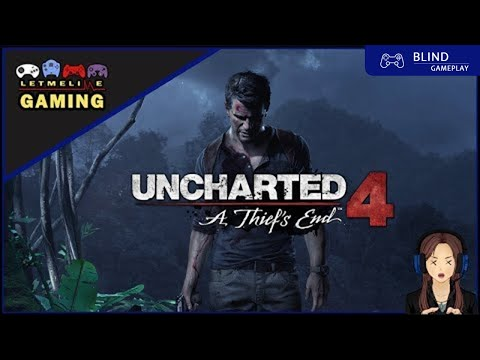 [Live] Uncharted 4: A Thief's End - Blind - Part 2  - HARD MODE -| PS4