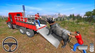 Farm Animals Transporter Truck Simulator Wild Sim - Animals Truck Simulator Game - Android GamePlay screenshot 5