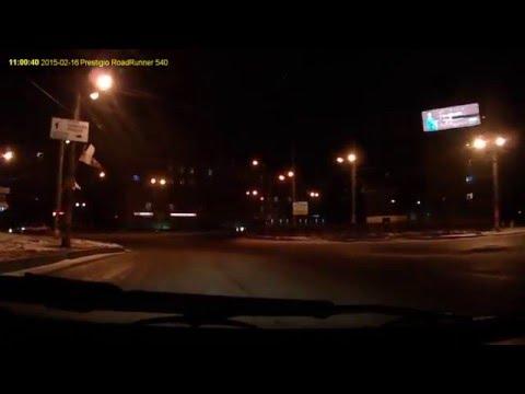 Нижний Новгород , проспект Ленина , час ночи  в новогоднюю ночь 2015г/2016г