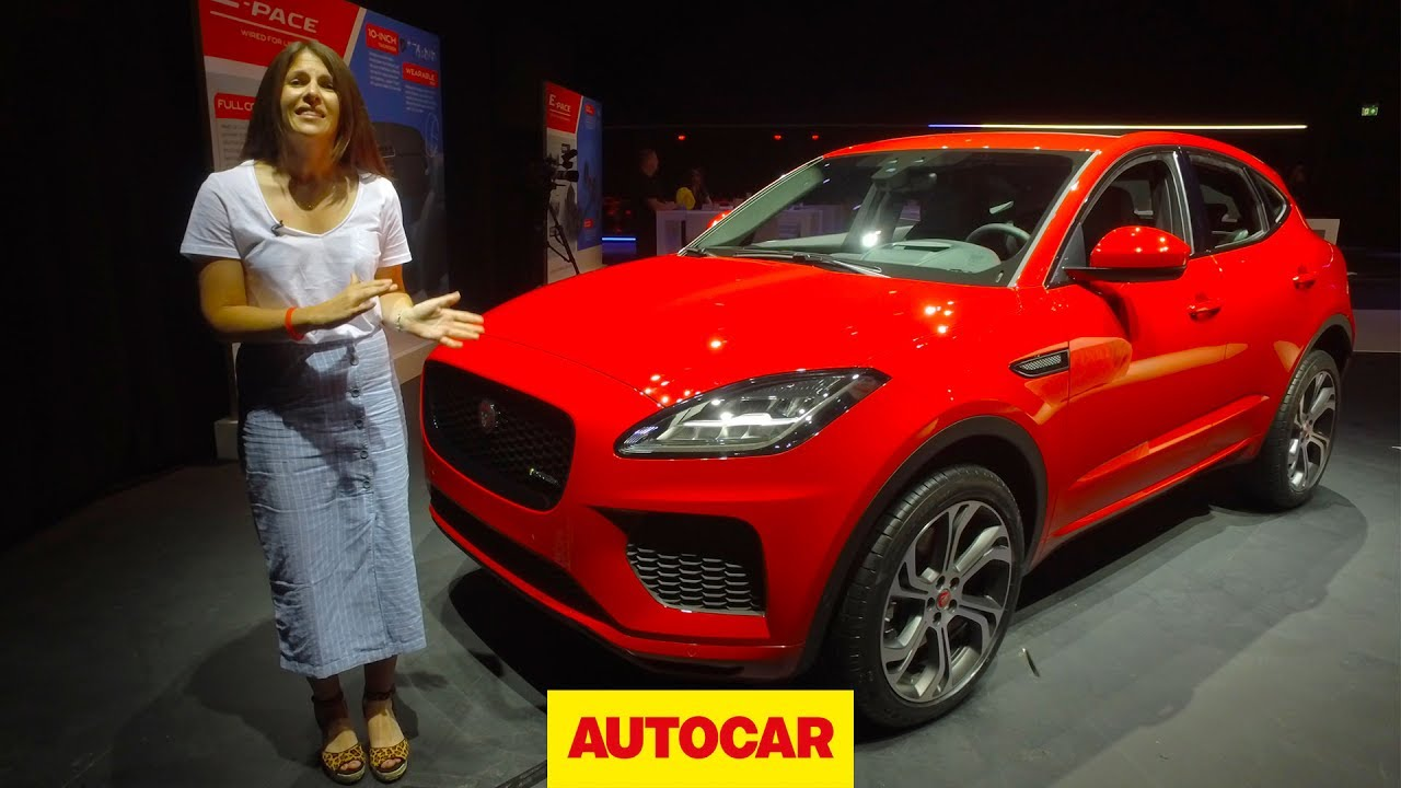 Jaguar E Pace In Depth Unboxing Bmw X1 And Audi Q3 Rival