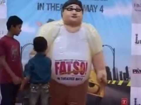 Fatso Movie Promotion in Mumbai by Daily Multimedia Ltd.