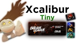 Xcalibur Tiny @ ASUS ROG DreamLeague Season 3
