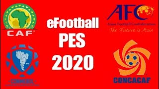 PES 2020 All National Teams Option File [PS4]   PES Africa