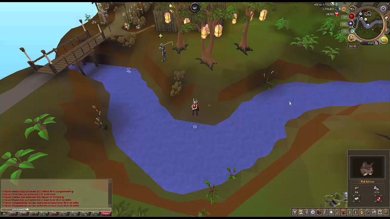 Fastest Way To Grow Kitten Runescape Rs3 2016 Youtube