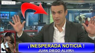 ¡ ULTIMA HORA ! JUAN DIEGO ALVIRA ¡ NO AGUANTÓ MÁS ! SALE A LA LUZ INESPERADA NOTICIA ¡ HOY !