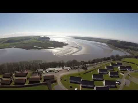 Laugharne Park Wales 2015 DJI Phantom From Above