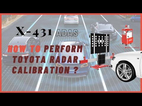Launch X-431 ADAS PRO Calibration Tool-TOYOTA Radar Calibration