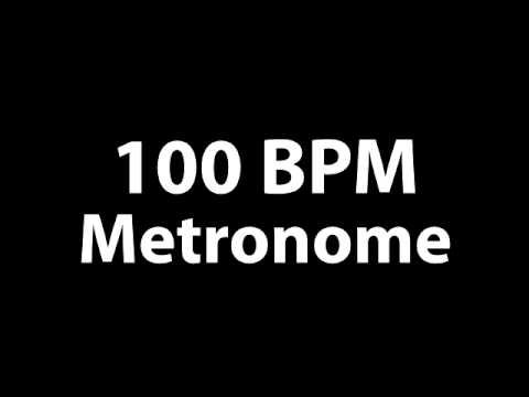 100BPM Metronome Beat - MP3 Metronome