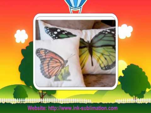 DIY Pillows with Sublimation Transfer Paper-----GetWin Industrial Co.,LTD.