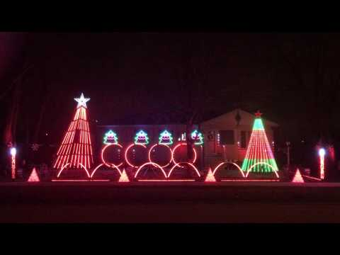 Pentatonixu0027s Christmas Canon   Light O Rama   Laff Christmas 2016
